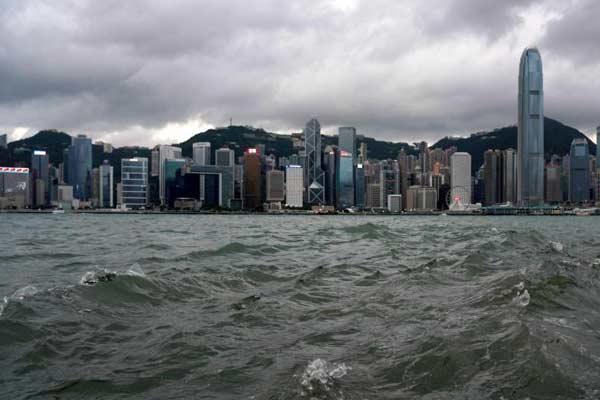 香港天文臺發布三號強風信號