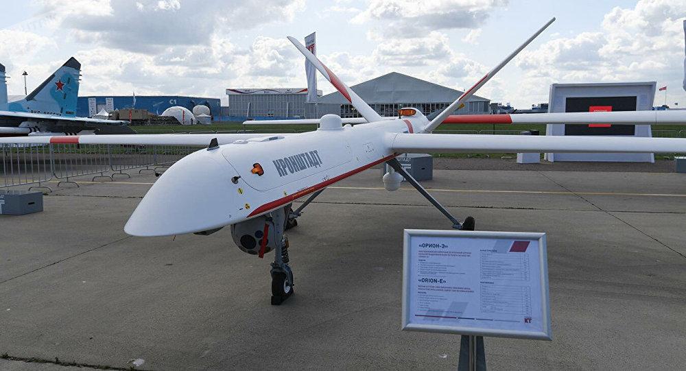 """俄开始量产""""猎户座""""无人机 每年产量30架"""