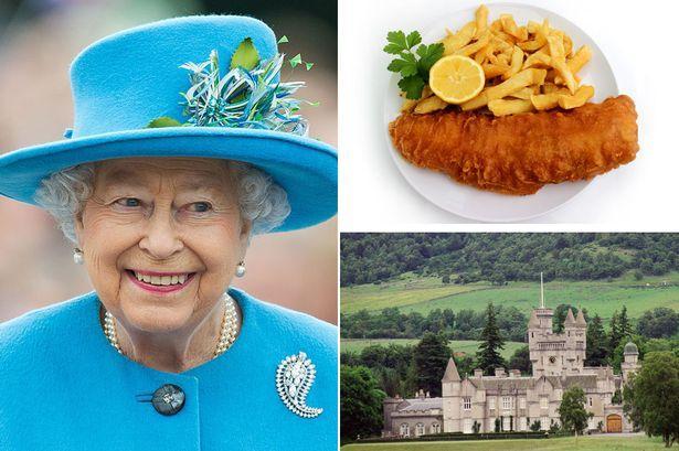 93岁英女王也爱点外卖?英媒曝她最爱吃炸鱼薯条