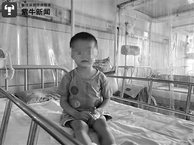 3岁儿患白血病聋哑父母义卖筹款被疑是骗子