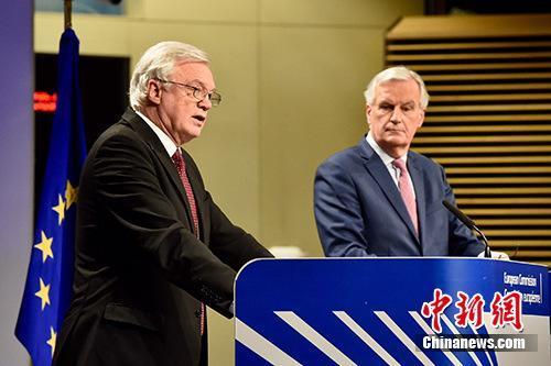 欧盟首席脱欧谈判代表:对避免英国硬脱欧不乐观