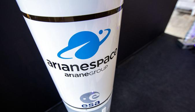 德国展示最新阿丽亚娜6型火箭模型 首飞预计在明年7月