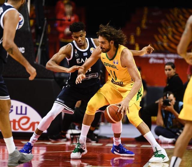 篮球世界杯F组:希腊爆冷不敌巴西新西兰胜黑山