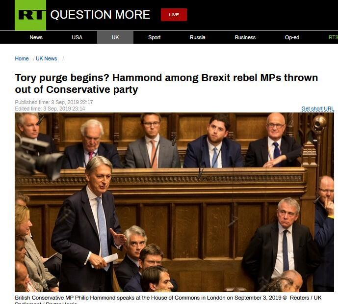 """来硬的!国会惨败,约翰逊""""怒斩""""21名保守党议员党籍"""