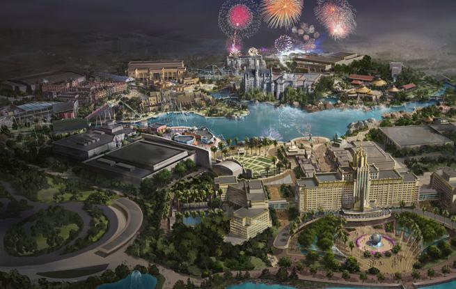 北京环球度假区将开主题酒店