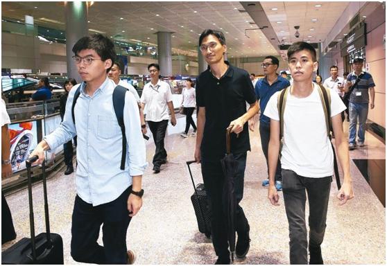 快讯:涉嫌违反保释我爱银川新闻在线52条件,黄之锋在香港机场被拘捕