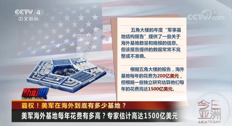 霸权!美军在海外到底有多少基地?