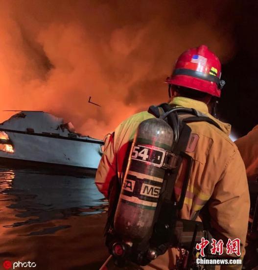 这是个悲惨的故事:加州潜水船大火恐致逾30人遇难 搜救暂停