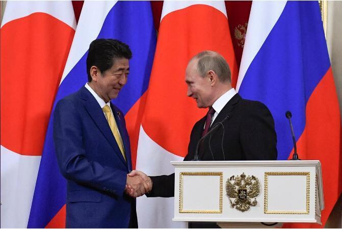 安倍将与普京讨论争议领土问题 俄方泼冷水:不抱期望