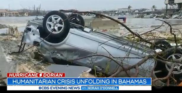 """飓风""""多里安""""已致巴哈马7人死亡 佛罗里达州东海岸将关闭"""