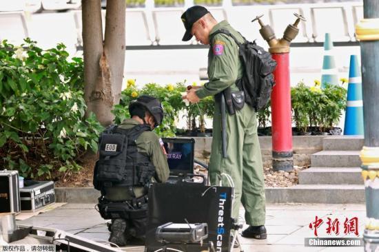 泰国警方:一名曼谷连环爆炸案主要嫌犯已被逮捕