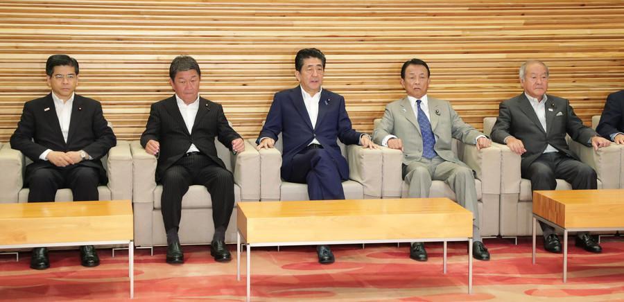 """日本高层将大换血:80岁""""二把手""""有望留任 河野或走人"""