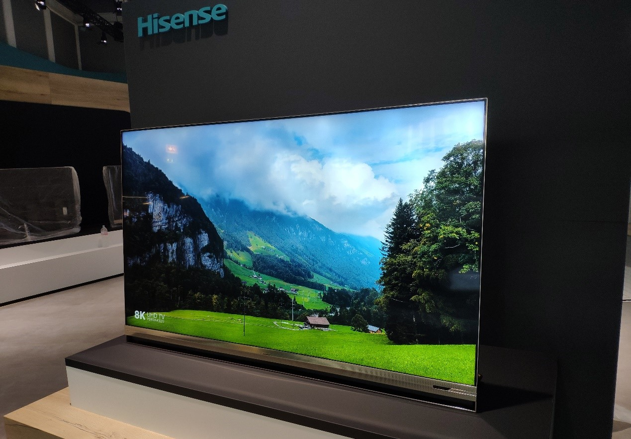 海信75英寸8K叠屏电视将亮相IFA 刷新高端大屏认知