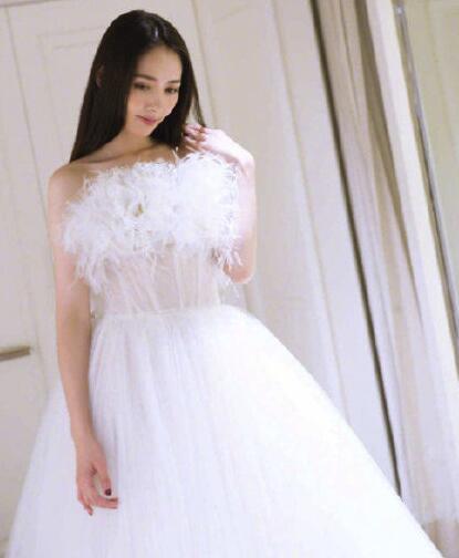 郭碧婷婚纱照曝光 这些女明星的婚纱照美的让人移不开眼