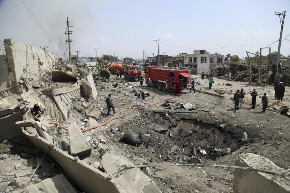至少8名外国人在喀布尔爆炸中身亡