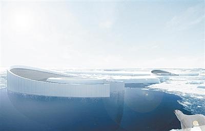 全新创意 用潜艇制造微型冰山对抗全球变暖