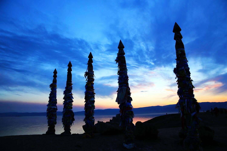俄罗斯贝加尔湖秘境奥利洪岛原始之美