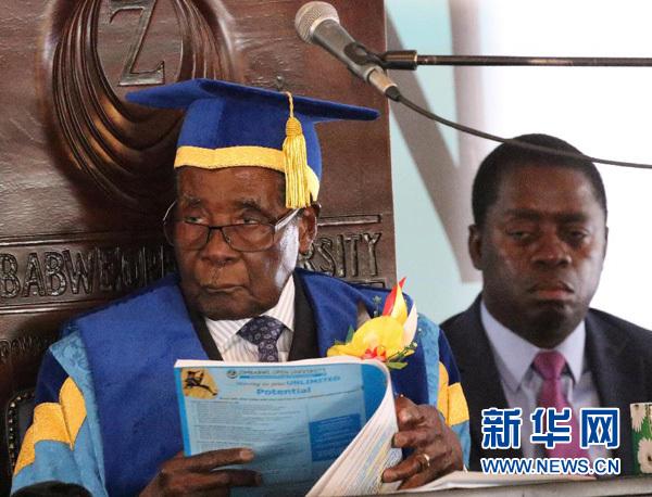 快讯!外媒:津巴布韦前总统罗伯特·穆加贝去世,终年95岁