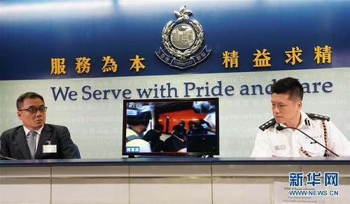 香港警方:修例风波以来共拘捕1187人