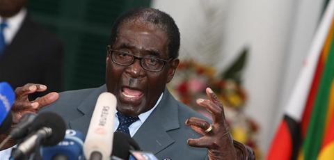 """津巴布韦总统宣布:前总统穆加贝为""""民族英雄"""""""