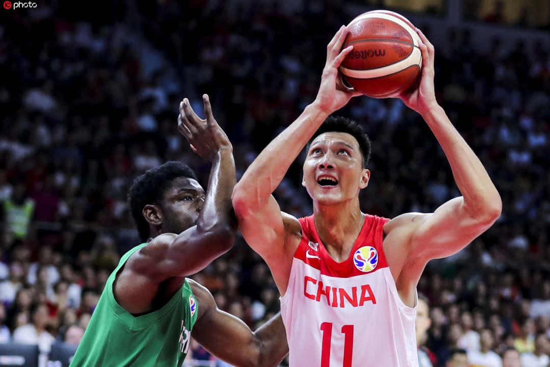 中国男篮憾负尼日利亚队