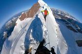两兄弟徒步攀阿尔卑斯山第二高峰 记录迷人景象