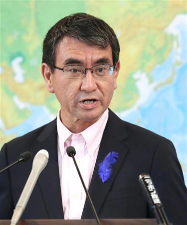 日本将改组内阁 对韩强硬的河野太郎或离任外相