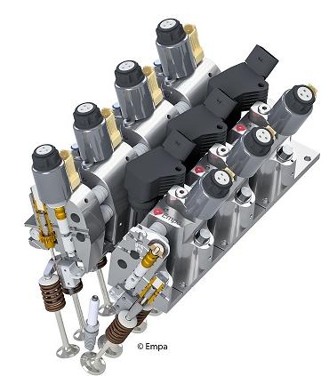 Empa研发电动液压无凸轮气门总成  可节省燃油高达20%