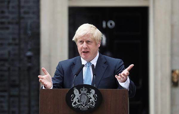 """英媒:约翰逊已制定""""合法""""方案,拒绝推迟脱欧"""