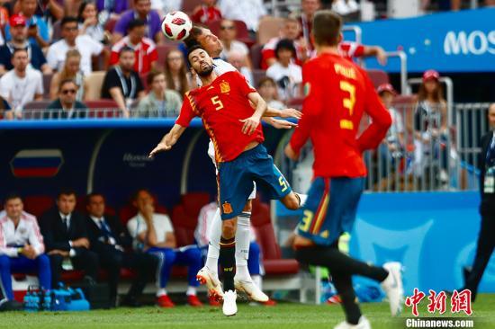 欧预赛:西班牙4-0法罗群岛 6战全胜小组第一