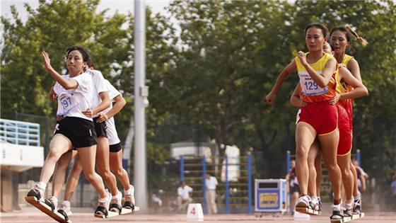 民族运动会板鞋竞速赛况
