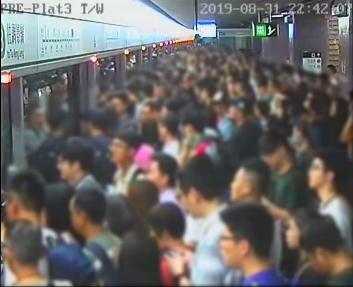 港铁声明:8月31日当晚太子站监控摄像遭破坏,无死亡报告