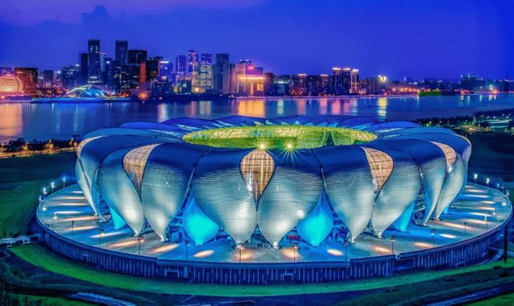 杭州亚运会开闭幕式场地就在 大莲花
