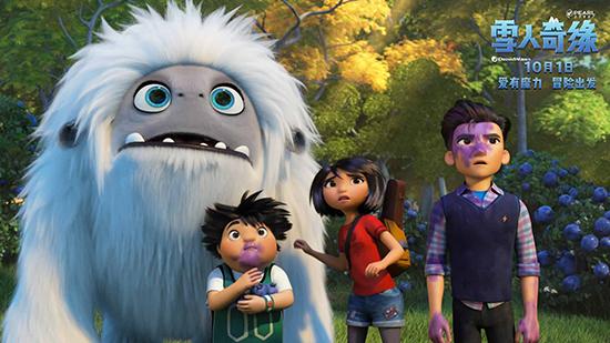 《雪人奇缘》首现中式家文化 普世情感打动世界