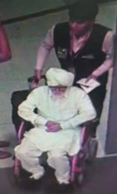 """印度32岁男子假扮81岁老人为赴美""""闯""""机场,安检人员当场识破"""