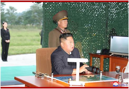 朝中社:金正恩10日再次指导超大型火箭炮试射