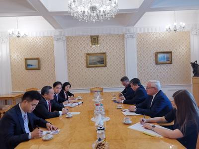 中俄举行新一轮军控与防扩散磋商