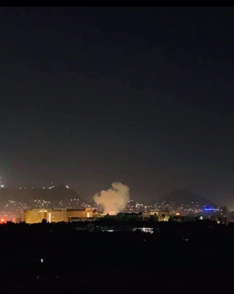 美国驻阿富汗大使馆附近发生爆炸