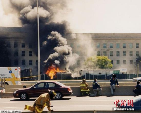 """""""9·11""""事件18周年:悬空的长椅托起哀思"""