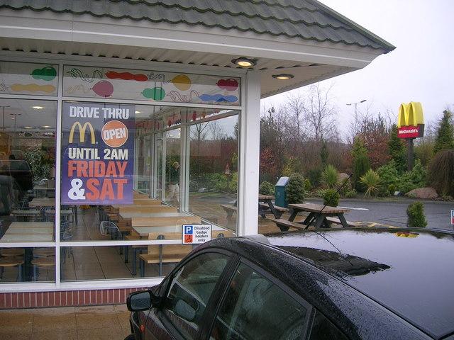 """麦当劳为其""""得来速""""汽车餐厅的点餐过程配备AI"""