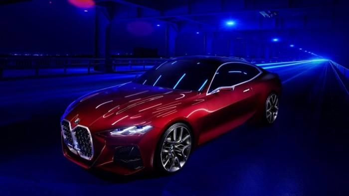 宝马发布Concept 4概念车:完美比例与精准设计结合