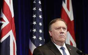 特朗普排除蓬佩奥兼国家安全顾问