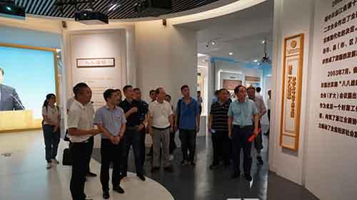 温州市工商联赴平阳调研基层商会建设