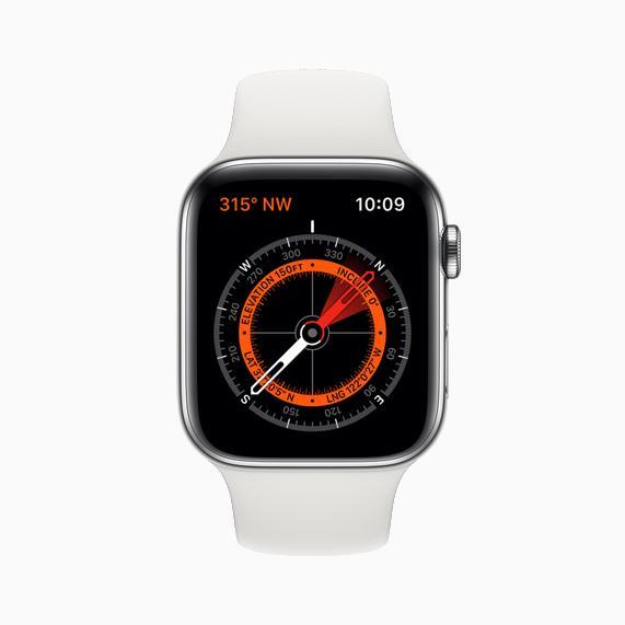 部分表带内含有磁体 会对Apple Watch指南针造成干扰