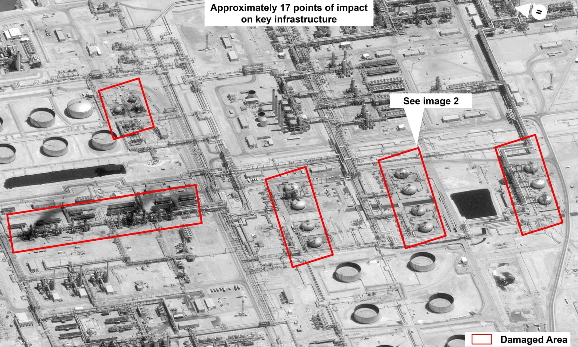 沙特遭袭疑点重重:发现疑似巡航导弹 油罐被贯穿