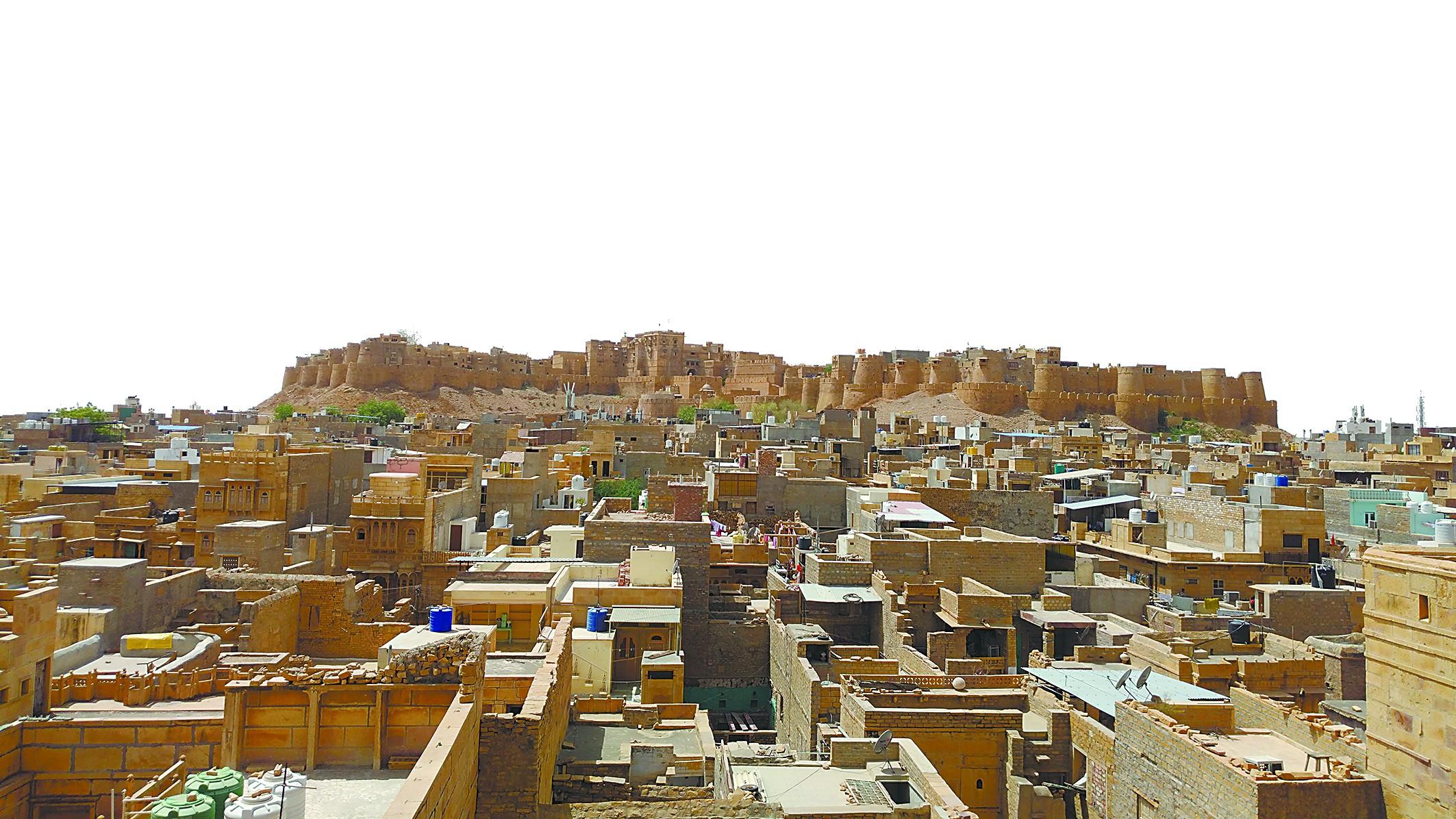 """印度沙漠中藏着""""黄金之城"""""""