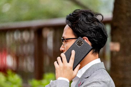 GRAMAS系列 | 商务人士的智能手机壳长这样