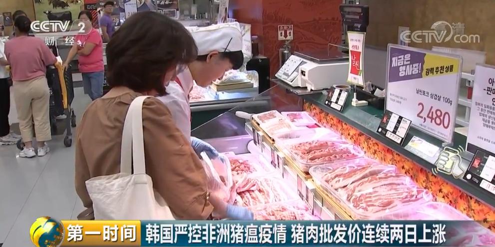 韩国非洲猪瘟警戒提至最高级:带违规火腿入境或罚1000万韩元