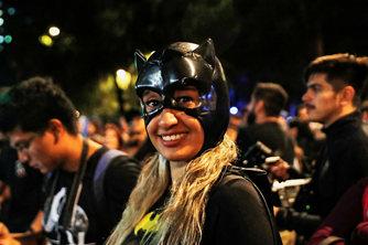 """蝙蝠侠""""80岁"""" 墨西哥举办庆祝活动"""