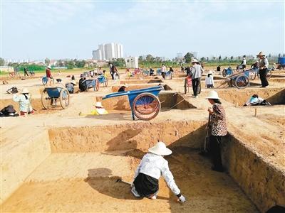 陕西雍城考古发掘一处建筑遗址 或为秦穆公时期宫殿群